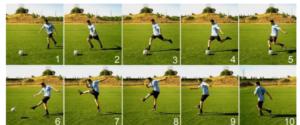 teknik passing dasar sepak bola