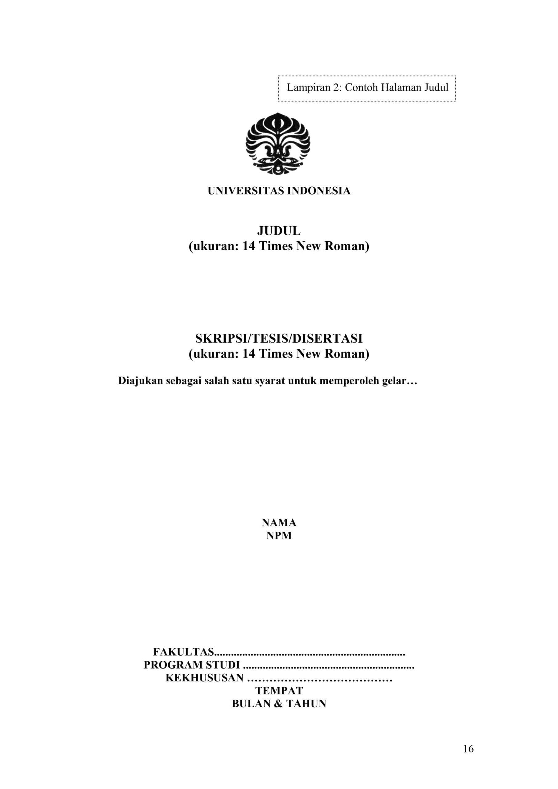 contoh cover makalah kuliah