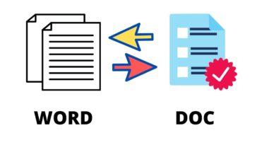 cara mengubah word ke pdf atau sebaliknya