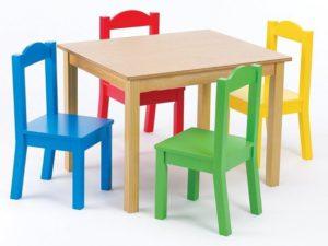 meja belajar anak kayu