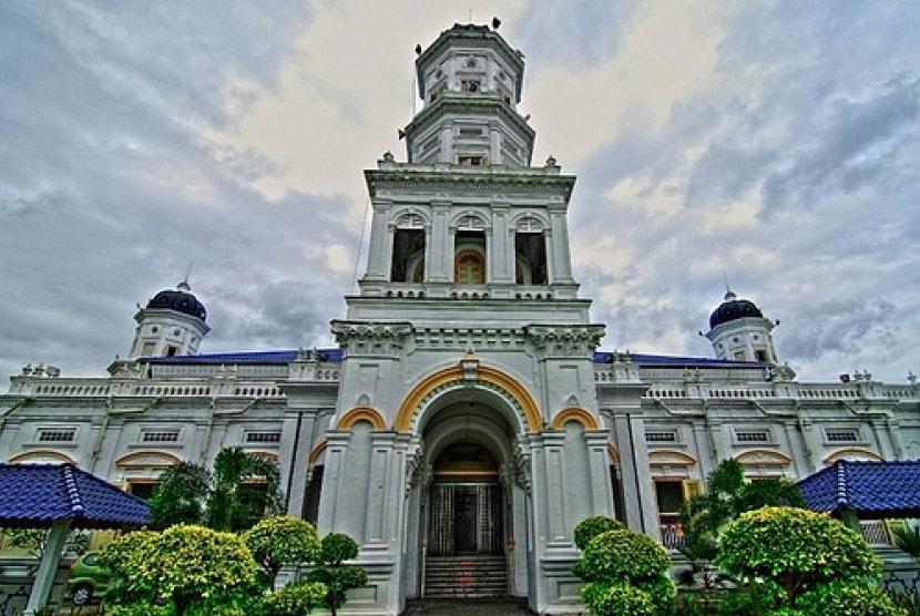 Masjid Johor Bahru Masjid Sultan Abu Bakar