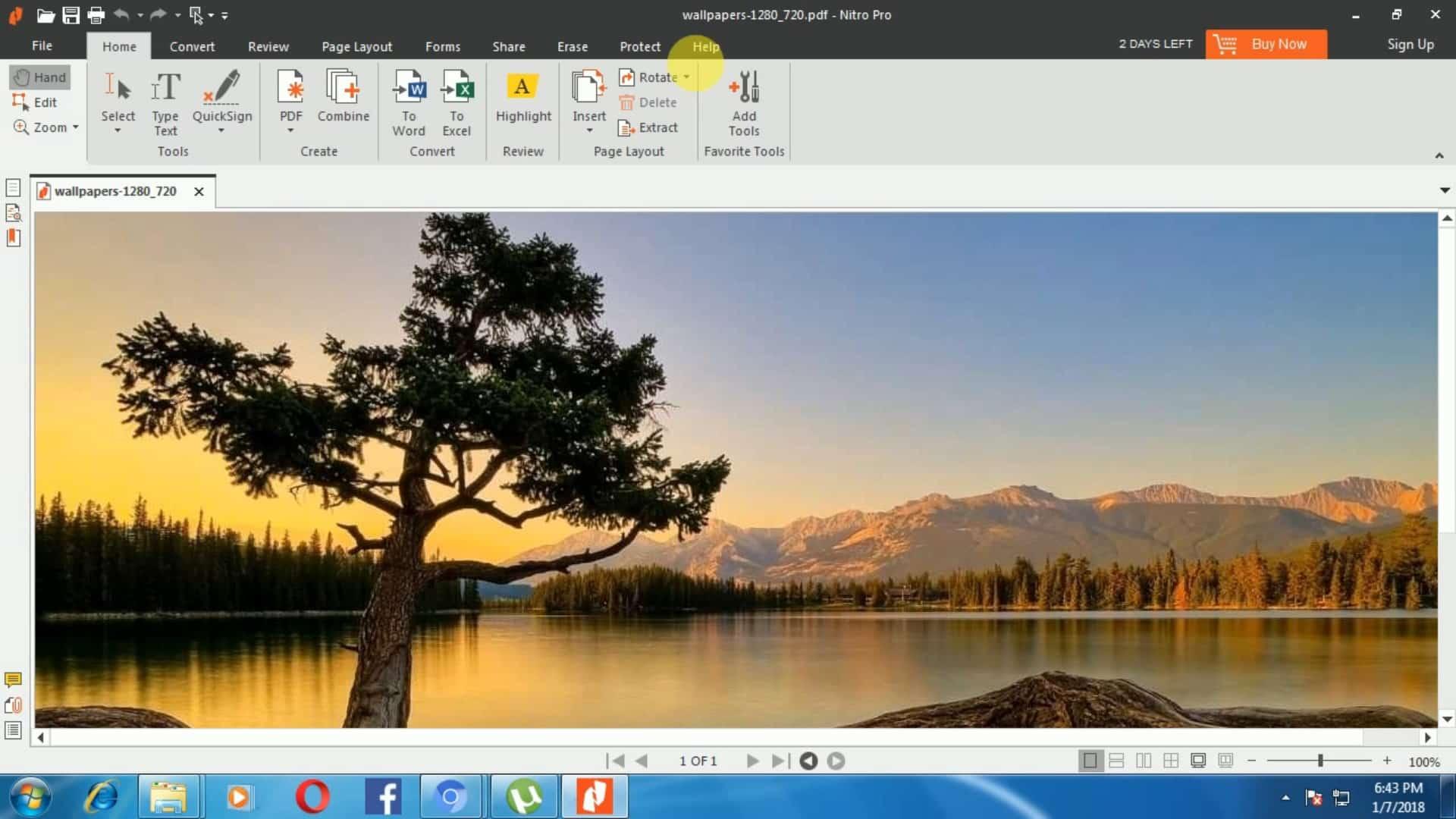 nitro free convert gambar ke pdf