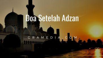 Doa setelah adzan (2)