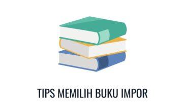 tips memilih buku impor