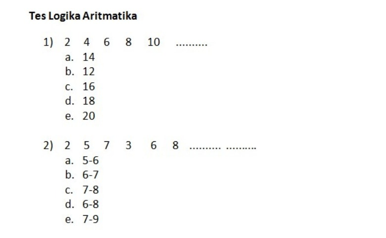 logika aritmatika