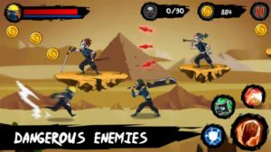 Game petualangan android terbaik ninja runner adventure
