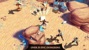 Game petualangan android terbaik dungeon hunter 4
