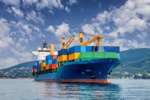 Kapal barang - alat transportasi laut