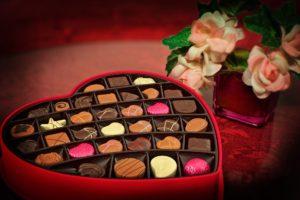 bunga dan cokelat