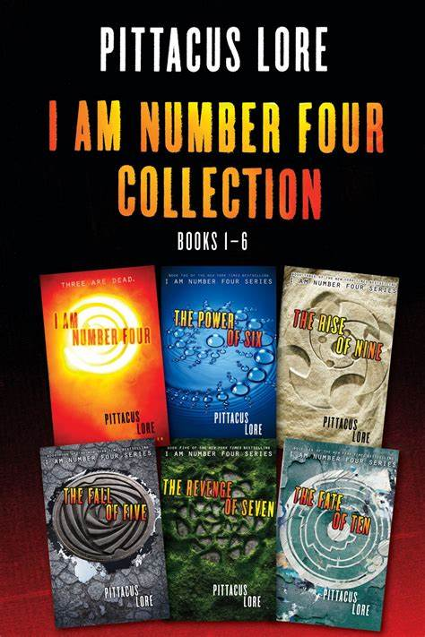 The Lorien Legacies: Im Number Four Collection (Books 1-6)